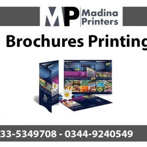 Brochures printing in islamabad and Rawalpindi