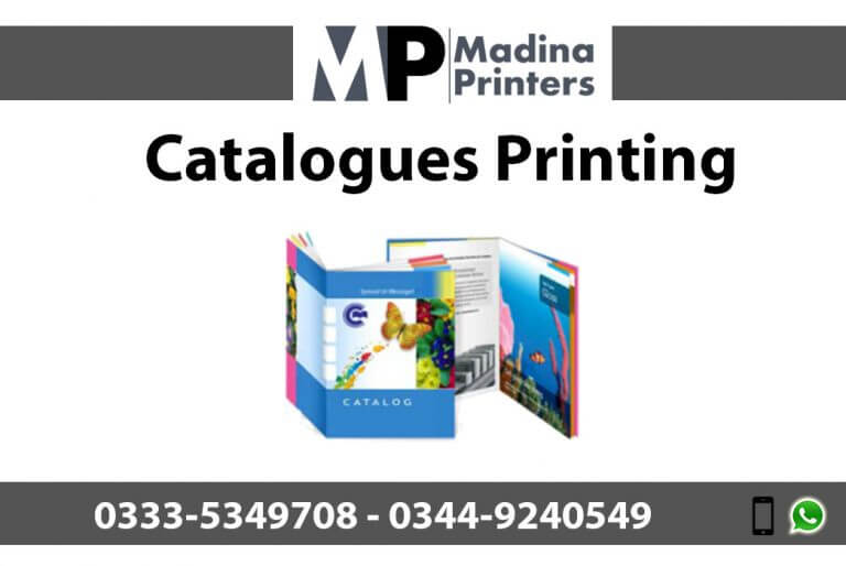 Catalogues printing in islamabad and Rawalpindi