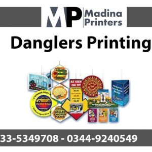 Danglers printing in islamabad and Rawalpindi