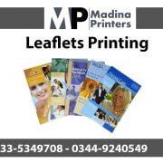 Leaflets printing in islamabad and Rawalpindi