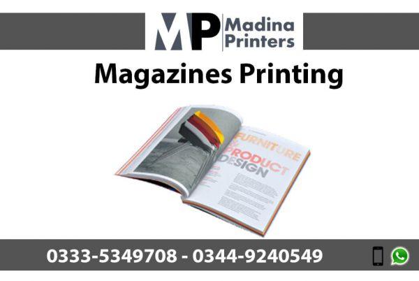 Magazines printing in islamabad and Rawalpindi