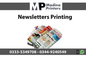 Newsletters printing in islamabad and Rawalpindi