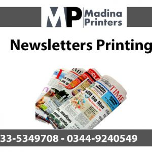 Newsletters printing in islamabad and Rawalpindi