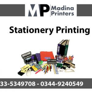 Stationery printing in islamabad and Rawalpindi