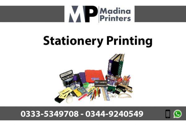 Stationery printing in islamabad and Rawalpindi