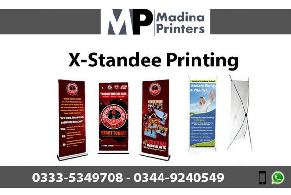 X-standee printing in islamabad and Rawalpindi