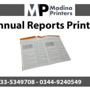 Annual-reports printing in islamabad and Rawalpindi