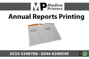Annual-reports printing in islamabad and Rawalpindi