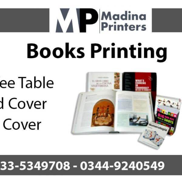 Book printing in islamabad and Rawalpindi