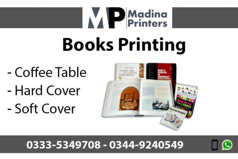 Book printing in islamabad and Rawalpindi