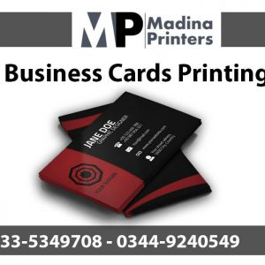 Business-card printing in islamabad and Rawalpindi