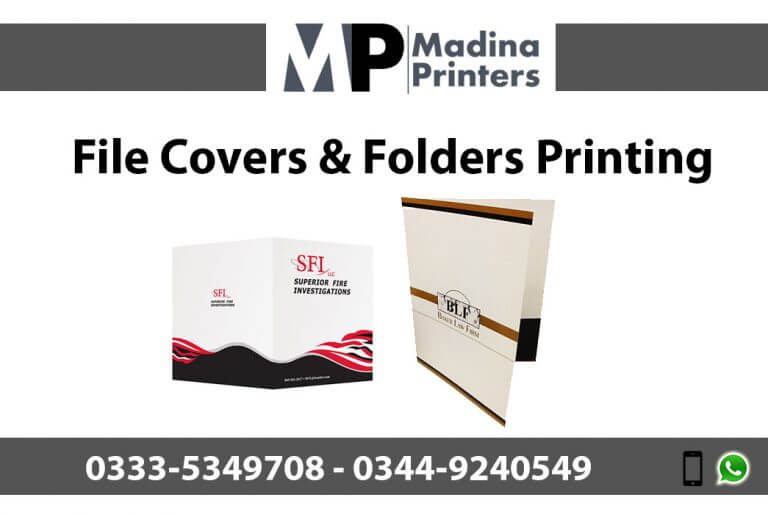 File-cover printing in islamabad and Rawalpindi