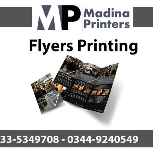 Flyers printing in islamabad and Rawalpindi