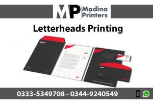 Letterhead printing in islamabad and Rawalpindi