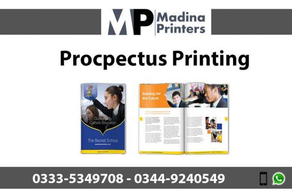 procpectus printing in islamabad and Rawalpindi