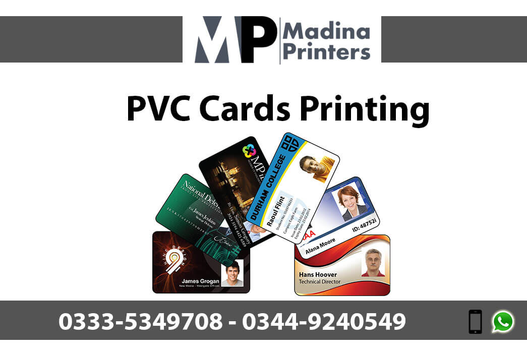 pvc card printing in islamabad and Rawalpindi