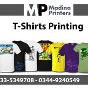T-shirt printing in islamabad and Rawalpindi