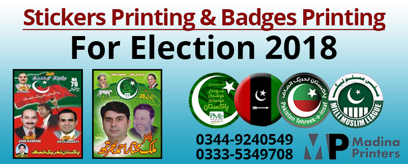 Election-Sticker-Printing-in-Islamabad-Pakistan | Election Badges Printing in Islamabad Pakistan